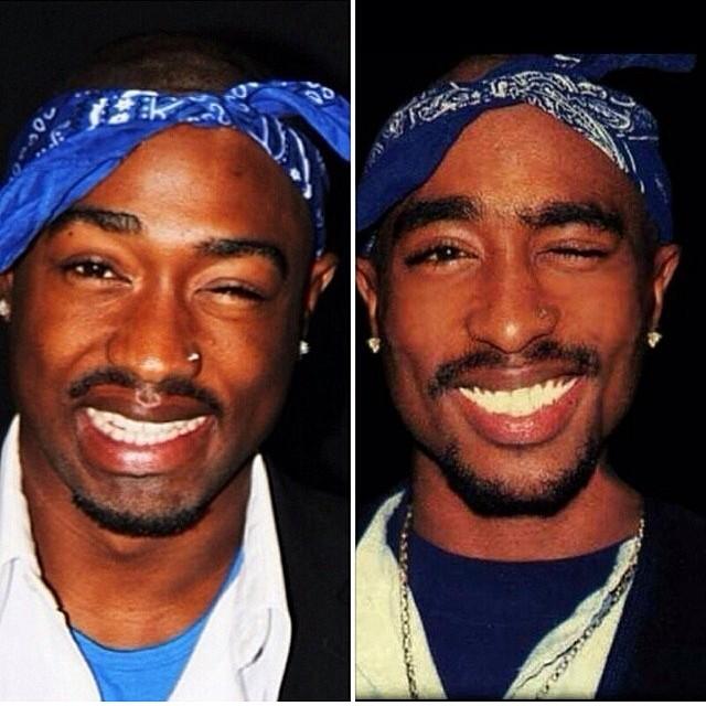 TeeGah™ aka Tupac look alike (@teegah_shakur) - Instagram