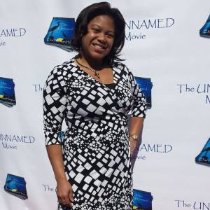 "Joy Elan on the Red Carpet at the Oakland,Ca Film ""The UnNamed"" (she was in the film ) Written & Produced by Elva NelsonHayes"