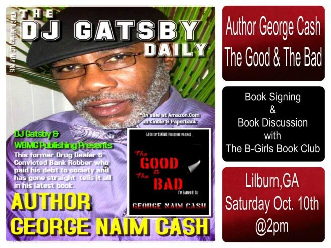 cash book signing GA 1