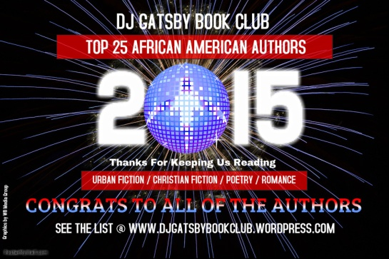DJ GATSBY BOOK CLUB 2015 AWARD